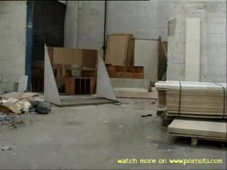 Manic Forced Mature Lady to Fuc With Him In The Warehouse