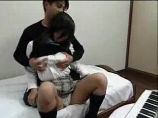 Japanese Scared Schoolgirl Fucked By Boyfriends Father