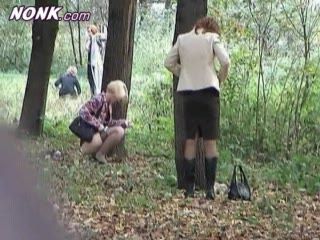 Guy Taped Female Teachers Taking Pee On Picnic