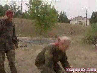 German Nazi Military Camp Porn