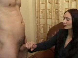 Mistress Femdom Handjob