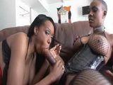Ebony Strapon Lesbians
