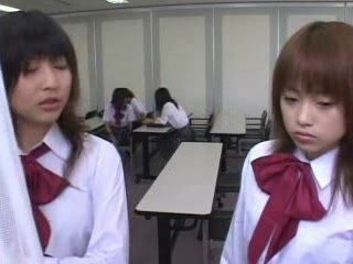 Japanese Schoolgirls Violated By Local Toughs