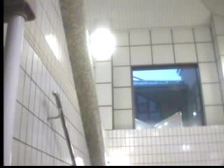 Japanese Womans Taped in Public Bathroom
