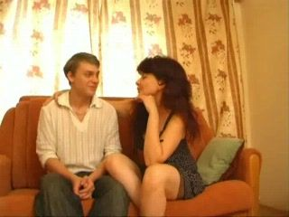 Russian Shy Boy Came To Look For Love Lessons From Stepmom