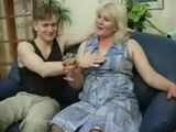 Russian Mom Doesnt Bother To Be With Younger Man When She Is