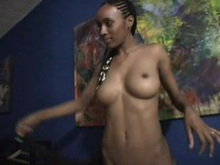 Ebony African Teen First Camera Fuck