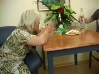 Russian Mom Celebrate 50th Birthday With Roommate