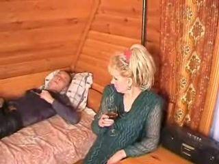 Teen Boy Makes Russian Mom Feel Horny