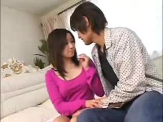 Japanese Fresh Married Couple Stayed Alone In Parents House