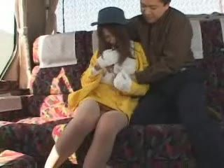 Japanese Girl In Yellow Molested In Train