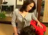 Japanese Boy Seeks Comfort From Stepmom
