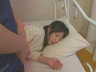 Sleeping girl fucked hard