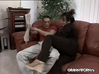 Plump German Uncle's Wife Fucked Hard By Husband's Nephew