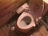Hidden Cam In Japanese Friends Home Toilet