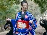 Japanese Ninja Warriors Brutalize Defeated Enemy