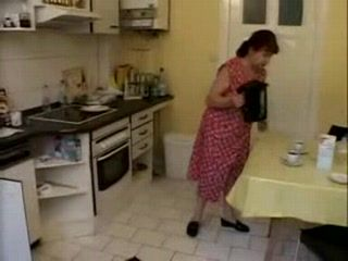 Mature Housewife Looks For Extra Service From Plumber