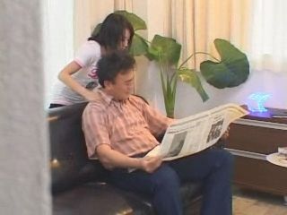 Japanese Teen Gives Back Massage To Step Dad And a Little Bit Extra -  Fantasy