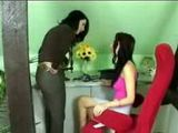Mom Caught Teen Daughter Playing With Make Up And Punished Her