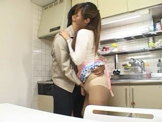 Asian Wife Fucked In Kitchen