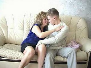 Mature Russian Mom Fuck Boy