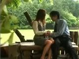 Student Fuck Japanese MILF Teacher By The River
