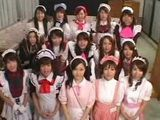 Japanese Group Testing For New Maid In Hotel