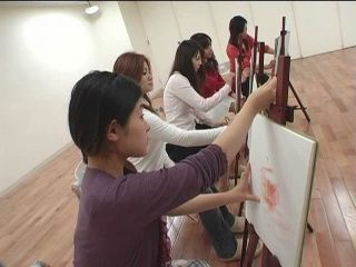 Japanese Painting Class Turned Into Sexual Education