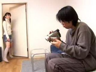 Japanese Teen Caught Stepbrother Watching Webcam Porn Tape