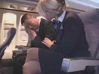 Air Hostess Console Japanese Passenger