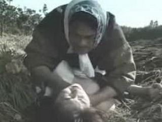 Japanese Disguised Man Attacked Woman In Field