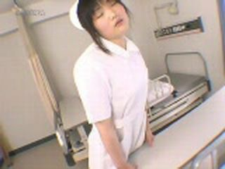 Japanese Nurse Caught Humping Table