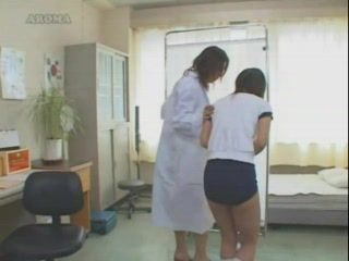 Girl Humps Pillow In Nurse's Office