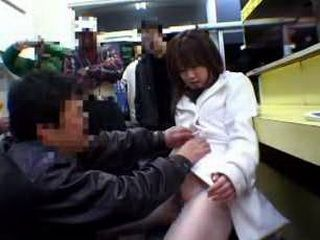 Japanese Teen Molested In Public Cafe