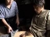 Japanese Village Boy Hurt His Penis While Working In The Field, Luckily His Mature Aunt Is Always Willing To Help