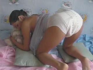 Diaper girl wetting
