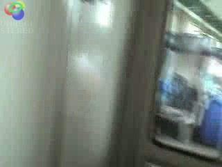 amateur sucks in the train