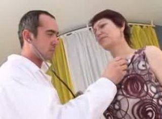 Young Doctor Abuse Mature Patient