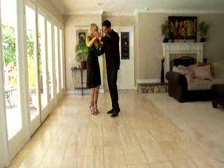 Dancing Blonde Rose