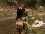 Village Girl Gets Fucked In The Forest By The River