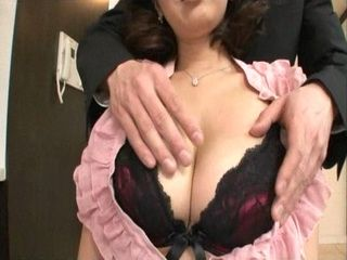 Hot Japanese MILF Gets Fucked By Husbands Young Colleague