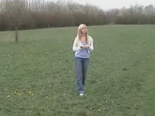 Peaceful Meadow Walk Turn Into Hard Pussyfuck
