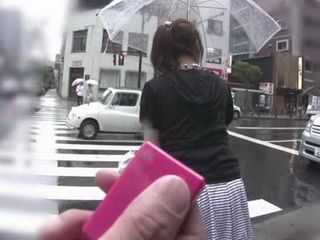 Japanese Woman Accepted To Satisfy Unknown Man From The Street