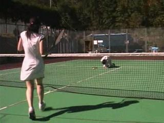 Injured Balls at Tennis Playground Needed Special Care To Recover Tekoki CFNM