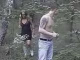 Street Whore Took Costumer In Woods