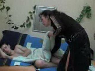 Aunt Abusing Teen Boy