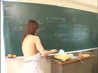 Japanese School Jerking Class