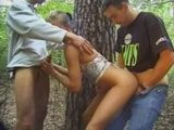 Teen Gets banged In Woods By her Mates