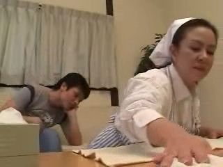 Mature Maid Gets Fucked By Boys After Being Caught Masturbating