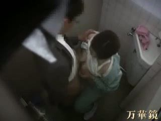 Japanese Doc Caught By Security Cam In A Toilet With His Patient